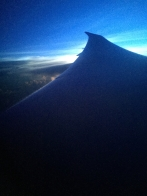 Catching the sun flying west on the Dreamliner from LAX to MEL - 15 hours